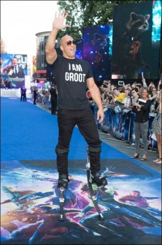 Guardians Of The Galaxy London Premiere! With Chris Pratt! Zoe Saldana! Dave Bautista! Vin Diesel! And More!