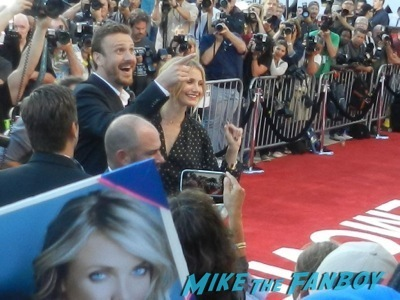 Cameron Diaz and Jason Segel sex tape movie premiere red carpet disaster cameron diaz 28