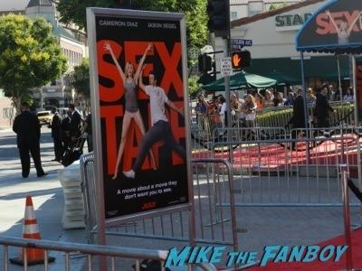 sex tape movie premiere red carpet disaster cameron diaz    1