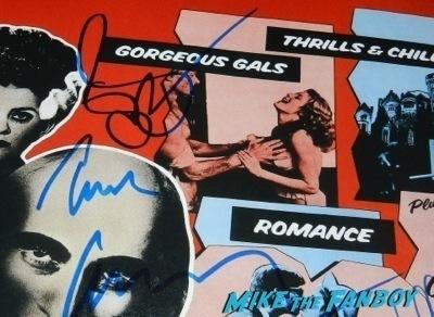 susan sarandon signed autograph rocky horror picture show uk poster signing autographs jimmy kimmel live 2014   18