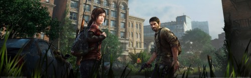 LAst of Us Movie poster teaser comic con