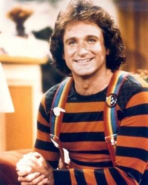 mork and minday robin williams photo
