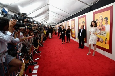 """The World Premiere Of Dreamworks Pictures' """"The Hundred-Foot Journey,"""""""