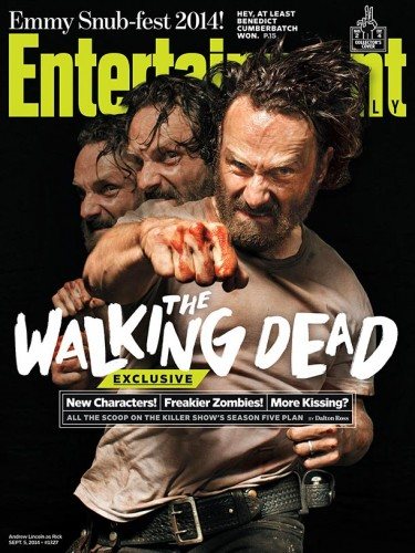 andrew lincoln  The Walking Dead Norman Reedus 2014 cover
