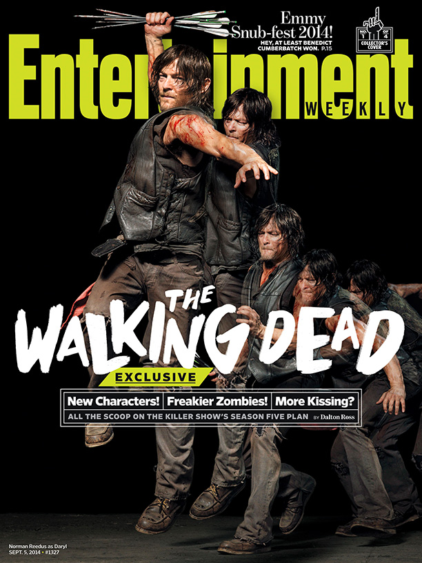 The Walking Dead Norman Reedus 2014 cover