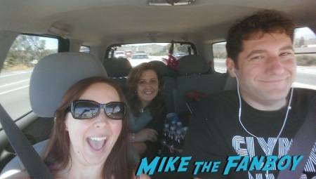 Mike, Susan and Myself on the road to Comic Con 2014!