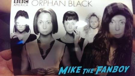 The most frightening pic ever!  Thanks Orphan Black :-/