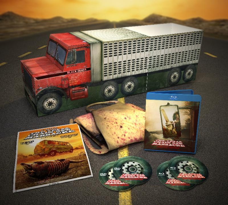 The Texas Chain Saw Massacre: 40th Anniversary Black Maria Limited Edition