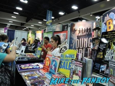 Hachette booth