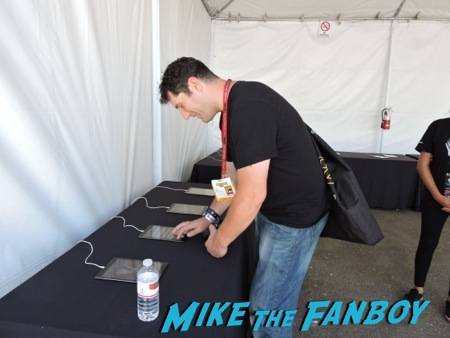 Mike creating his Vikings profile