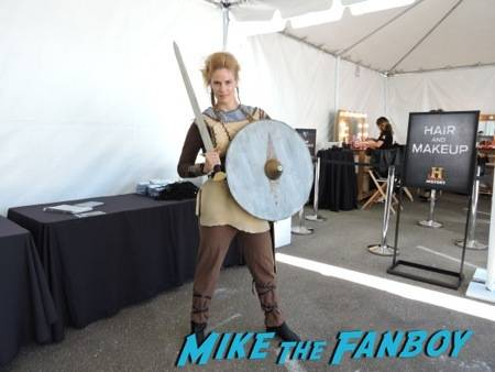 A Shield Maiden at the Vikings Experience