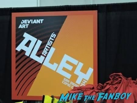 DeviantArt Artist's Alley poster