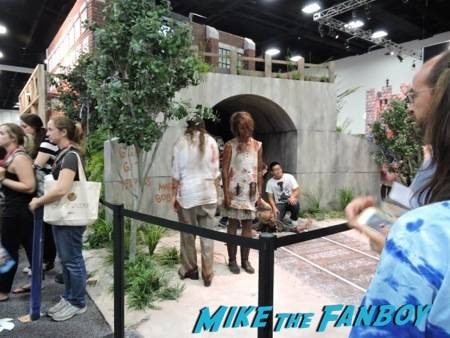 """The Walking Dead"" booth"