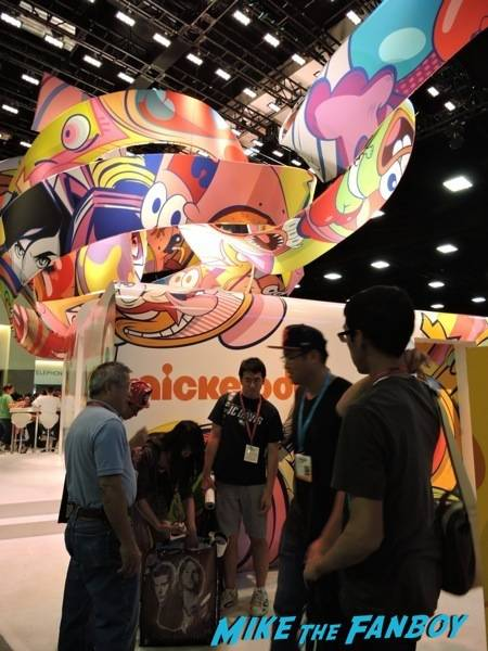 Nickelodeon booth