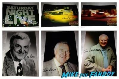 Don Pardo signed Autograph SNL announcer 1
