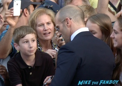 Expendables 3 movie premiere sly stallone signing autographs wesly snipes   13
