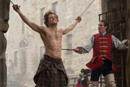 Jamie tortured by Black Jack