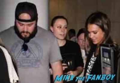 Jessica Alba Fan photo signing autographs selfie rare 2