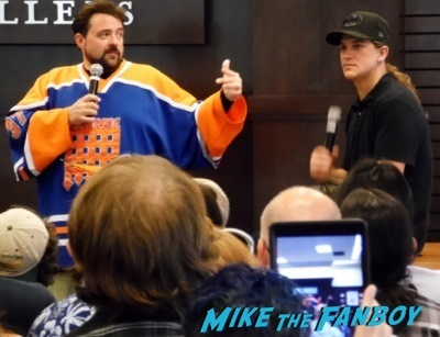 Kevin Smith Jason Mewes book signing grove los angeles 1