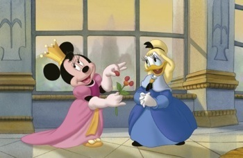 Mickey, Donald, Goofy: The Three Musketeers promo press still mickey mouse   11