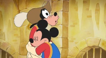 Micky, Donald, Goofy: The Three Musketeers promo press still mickey mouse   10