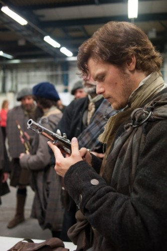 Outlander behind the scenes