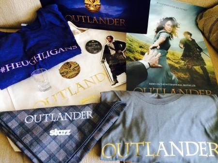 Outlander swag pile