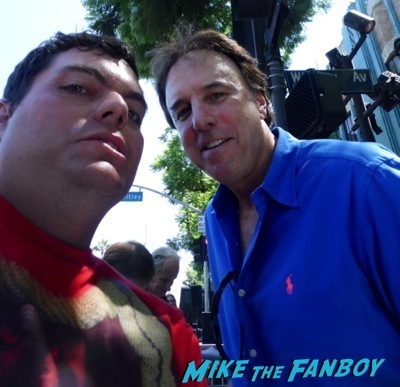 kevin nealon fan photo Phil Hartman Walk of Fame star ceremony jon lovitz kevin Nealon  2