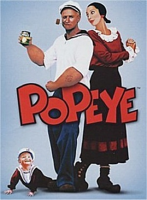 Popeye robin williams movie poster