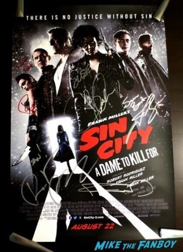 Sin City 2 cast signing sdcc jessica alba robert rodriguez josh brolin