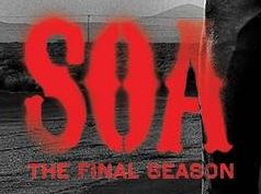 soa sons of anarchy final season logo promo poster rare