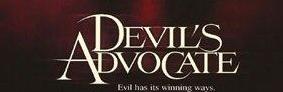 DEvil's advocate logo poster