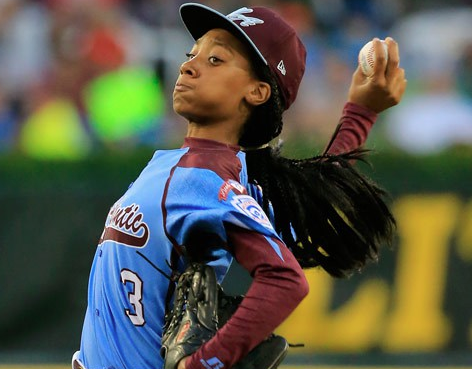 Mo'ne davis little league pitcher