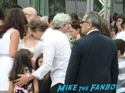William Fichtner signing autographs Teenage Mutant Ninja Turtles Premiere megan fox signing autographs hot  2
