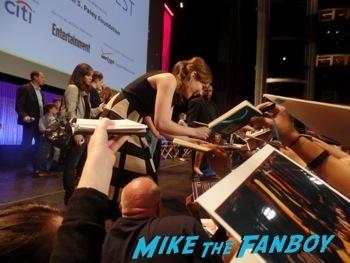 Marvel's Agents of S.h.i.e.l.d. paleyfest clark gregg signing autographs ming na hot