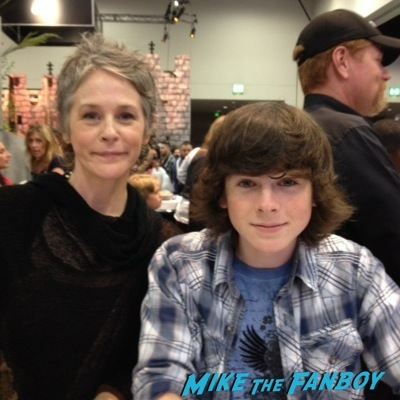 The walking dead autograph signing sdcc 2014 melissa mcbride  2