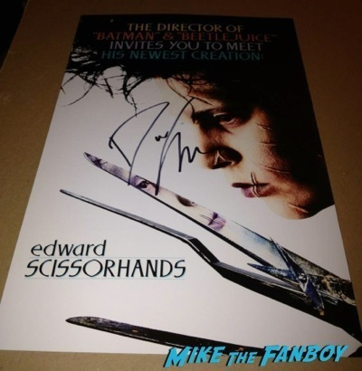 danny elfman signed autograph nightmare before christmas  q and a 4