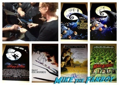 danny elfman signed autograph nightmare before christmas  q and a 2