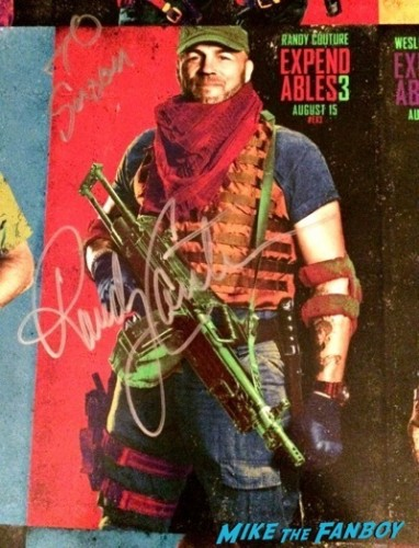 expendables 3 one sheet poster signed autograph kellan lutz sdcc 2014  6
