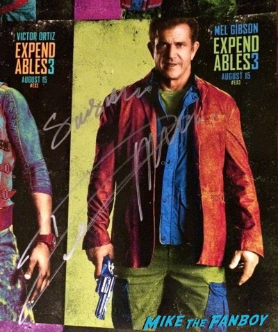 expendables 3 one sheet poster signed autograph kellan lutz sdcc 2014  4
