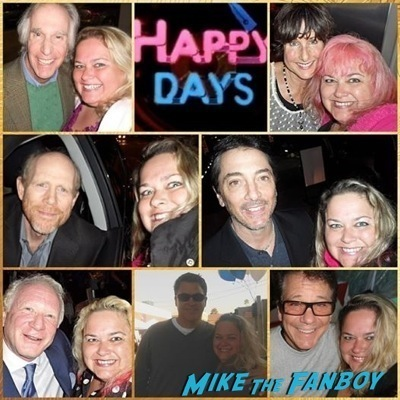 happy days cast fan photo selfie signing autographs rare 1