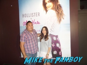 lucy hale meet and greet signing autographs august 9th  1