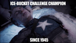 Captain America Meme frozen