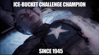 Captain America Meme frozen
