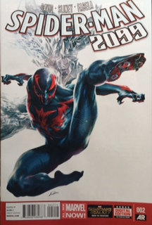spider man 2099 comic book cover