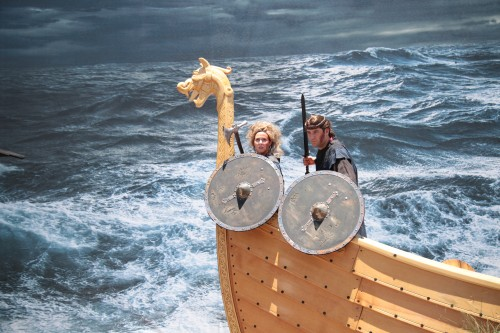 Raging seas! (Photo courtesy of History Channel)