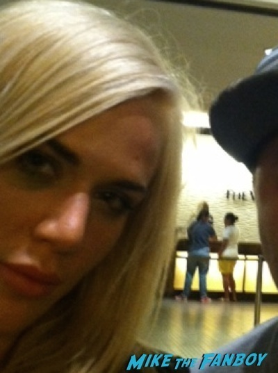 wwe's lana fan photo selfie signing autographs hot rare 1