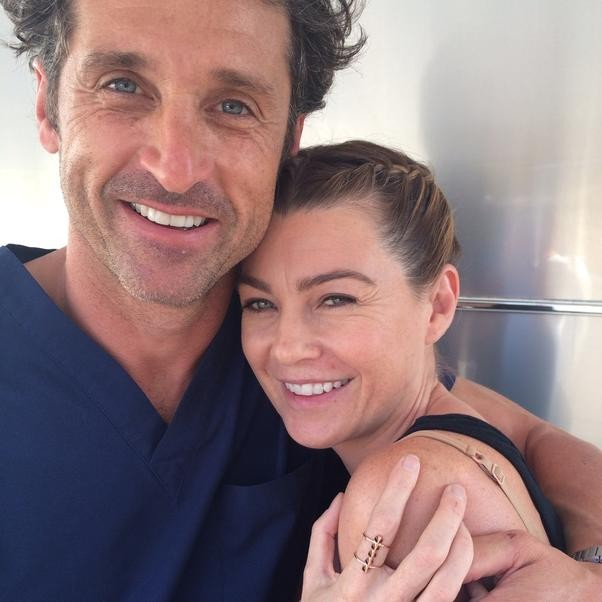 Ellen Pompeo And The Grey\'s Anatomy Cast Go All Orange Is The New ...