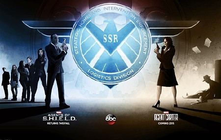 Agent Shield Carter duo poster