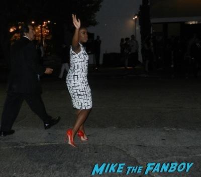 Uzo Aduba  Emmy Party signing autographs fan photo rare   13